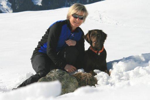 Russin och jag mars 2008