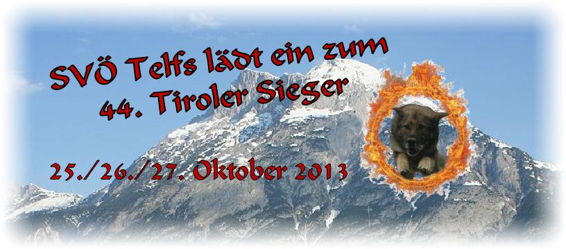 Tiroler Sieger  2013