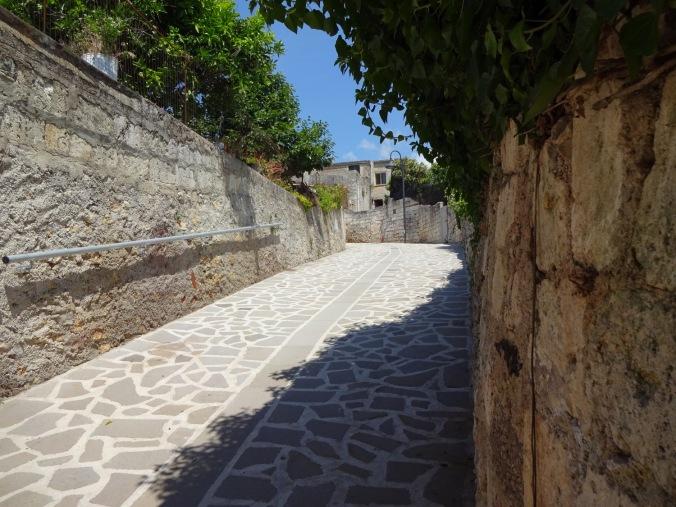 Gränd i Monteleone Rocca Doria